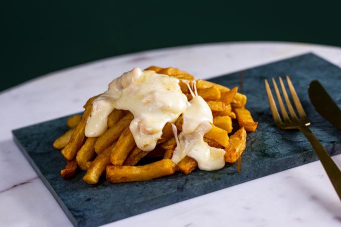 La carte - Les frites raclette fondue