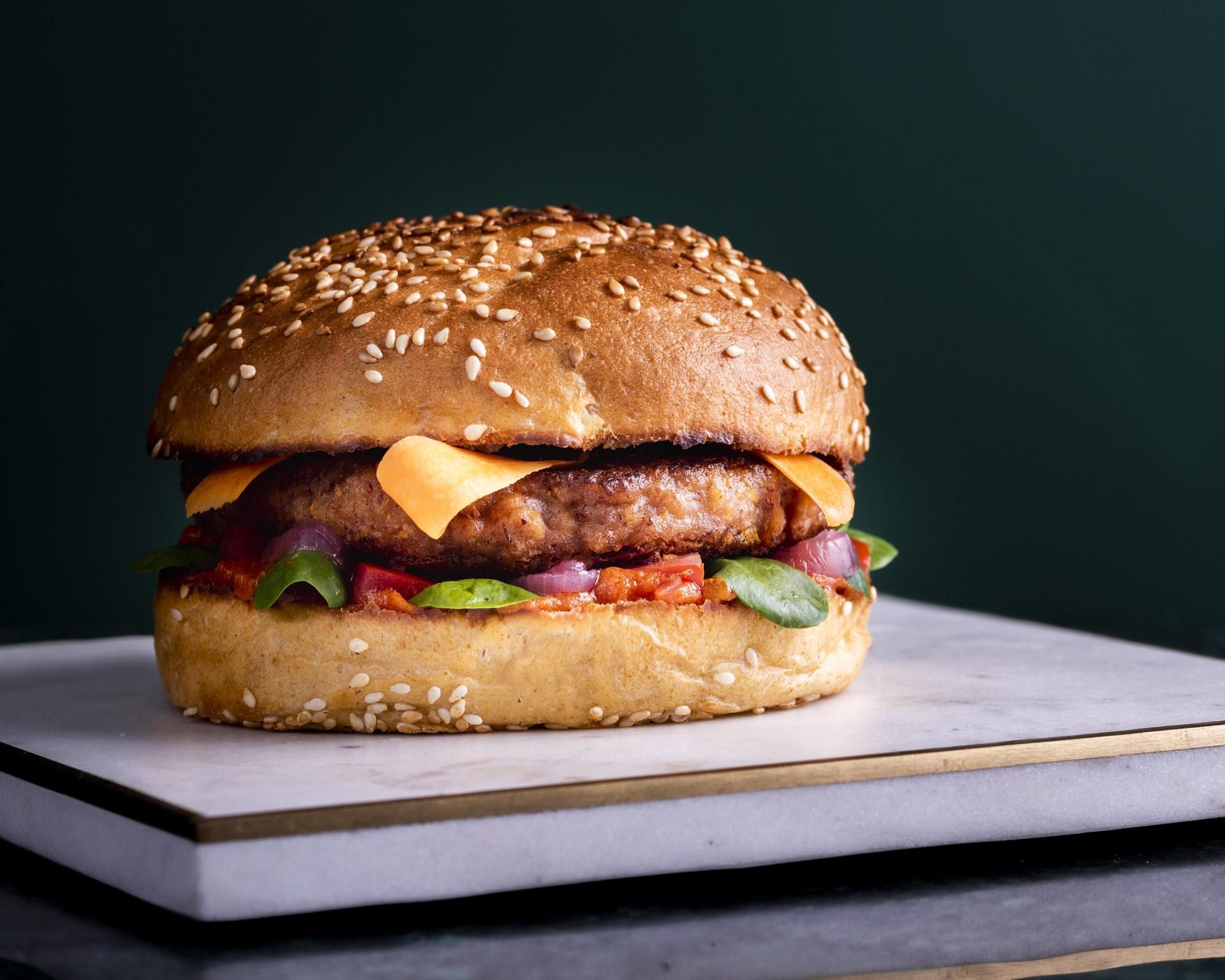La carte - Amis végan j'ai pensé à vous avec ce burger