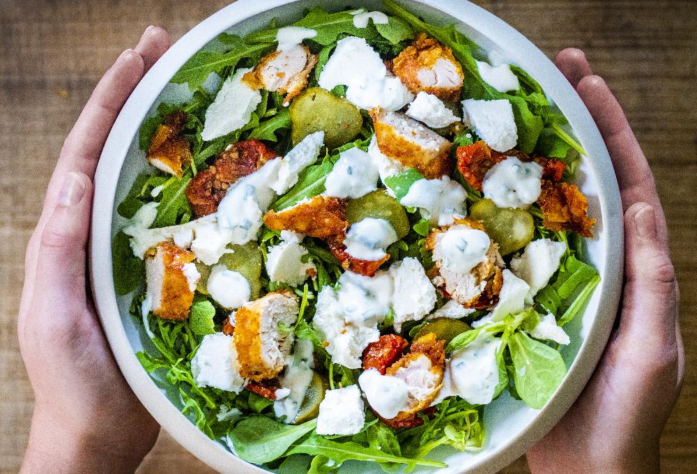 La carte - Jeanine, une salade healthy pour ceux qui veulent manger léger